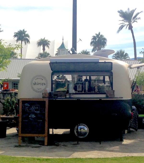 Ahimsa Caravan Cafe