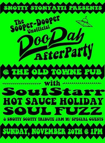 Ole Towne Pub party