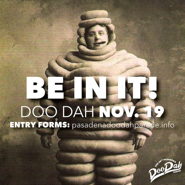 Be in the 2017 Doo Dah Parade