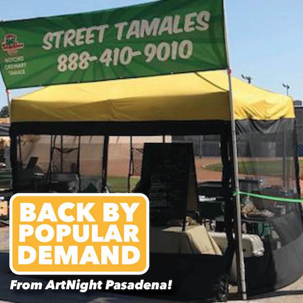 Tamales at Pasadena Doo Dah Parade