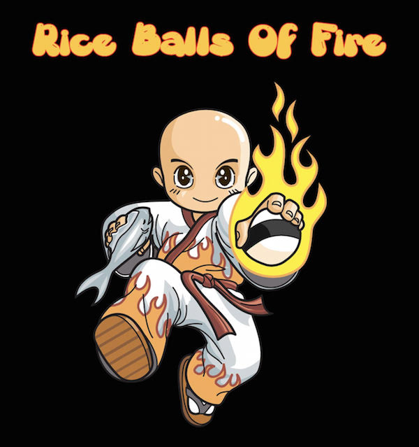 Rice Balls of Fire logo