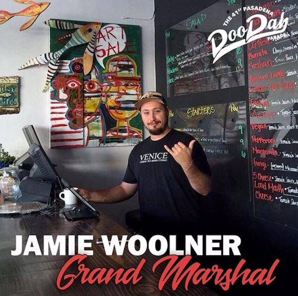 Doo Dah Grand Marshal Jamie Woolner