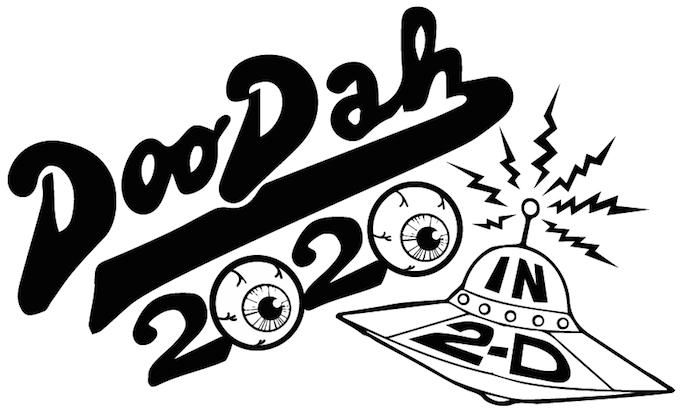Pasadena Doo Dah Parade 2020 logo