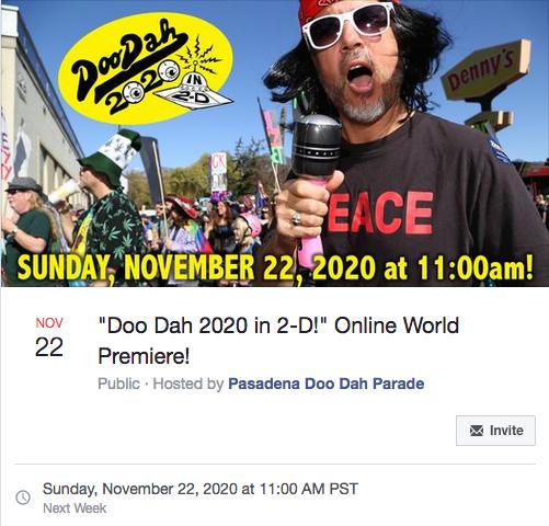 Pasadena Doo Dah Facebook Event